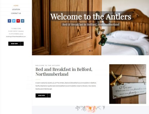 New Site: The Antlers B&B