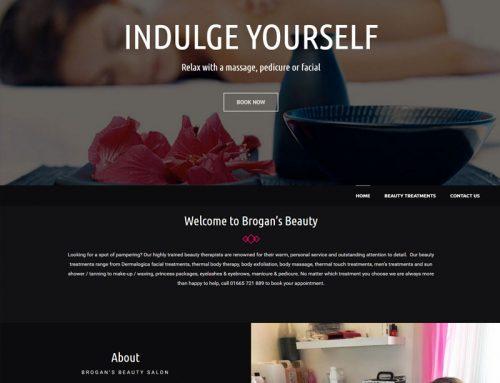 New Site: Brogan's Beauty