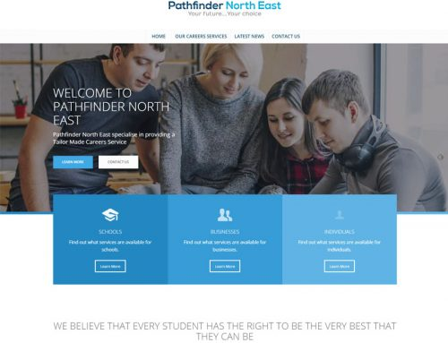 New Site: Pathfinder North East