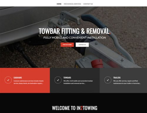 New Site: In 2 Towing