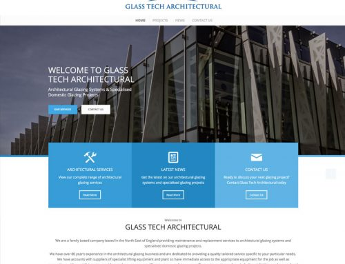 New Site: GlassTech Architectural