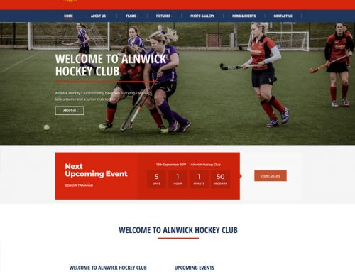 New Site: Alnwick Hockey Club