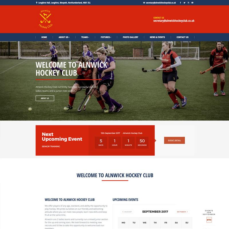 Alnwick Hockey Club Screenshot
