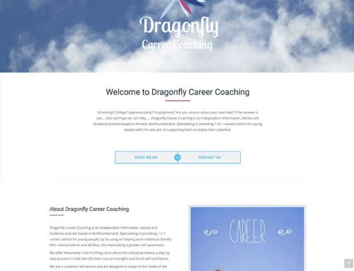 New Site: Dragonfly Career Coaching