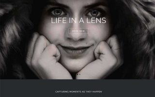 Life in a Lens Website