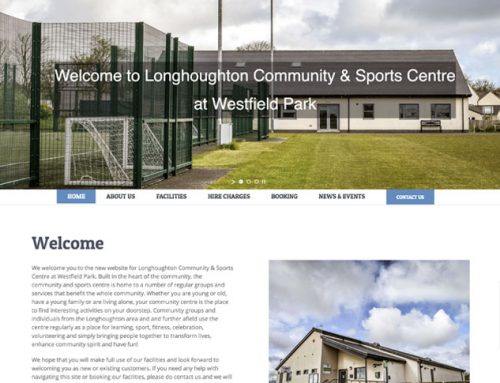 New Site: Longhoughton Community Centre