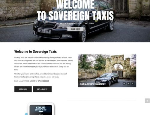 New Site: Sovereign Taxis