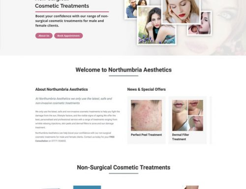 New Site: Northumbria Aesthetics