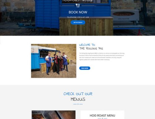 New Site: The Rolling Pig