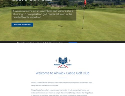 New Site: Alnwick Castle Golf Club