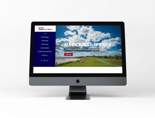 New Site: Alnwick Golf Breaks